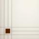 Стекло сатин светлый пескоструйный рисунок с фьюзингом 4 мм
