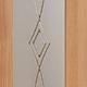 Стекло сатин светлый заливной рисунок 4 мм
