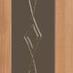 Стекло сатин темный (графит) заливной рисунок 4 мм
