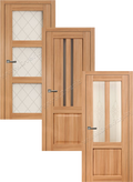Двери в экошпоне, серия K